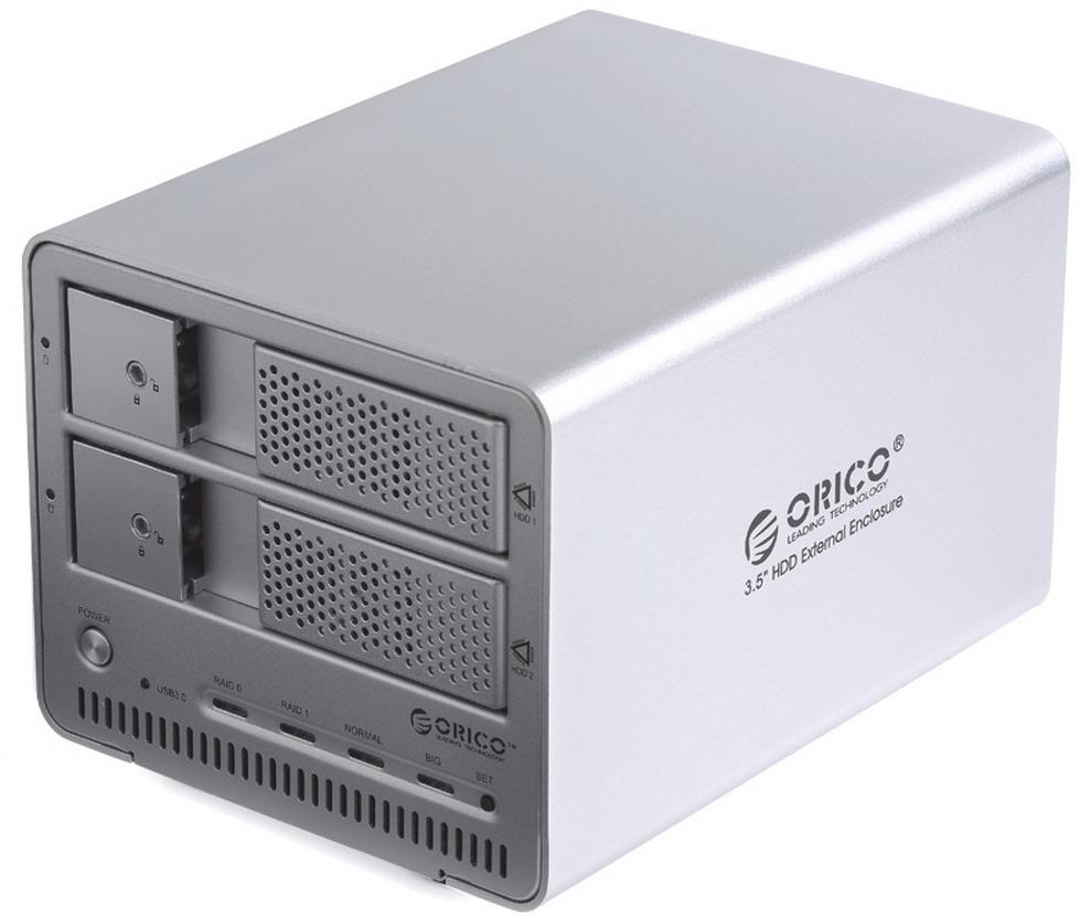 Orico 9528RU3 - ��������� ��� HDD (Silver) 9528RU3-SV