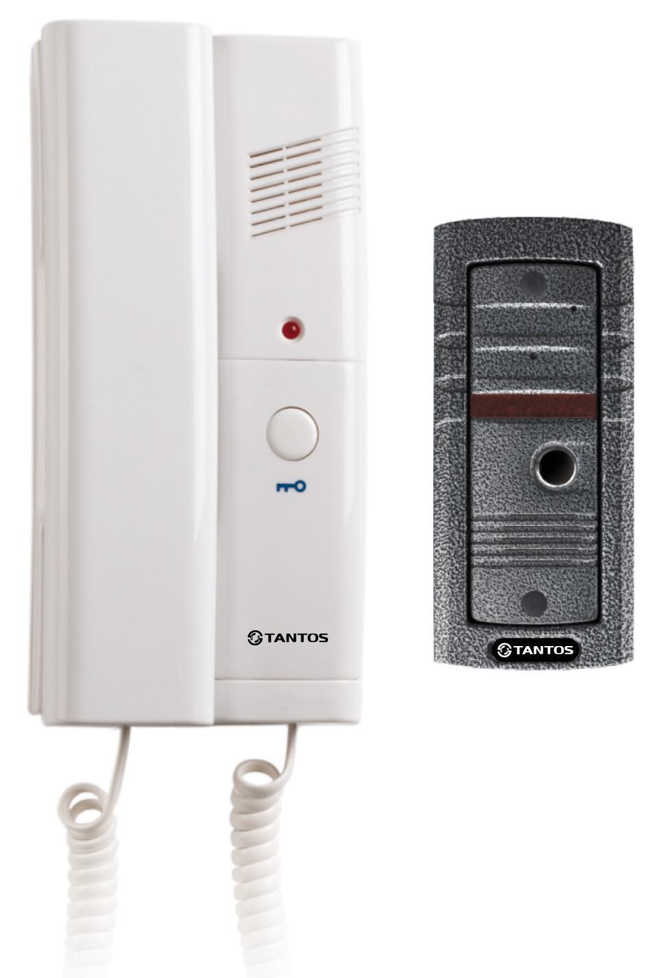 Tantos TS-203 Kit - комплект аудиодомофонаДомофоны<br>Комплект аудиодомофона<br>