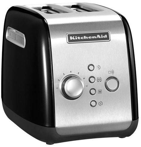 KitchenAid KMT221 2-slice Toaster (5KMT221EOB) - тостер на 2 хлебца (Onyx Black)