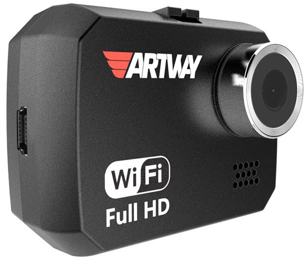 Artway AV-507 - автомобильный видеорегистратор (Black) rekam f220 black автомобильный видеорегистратор
