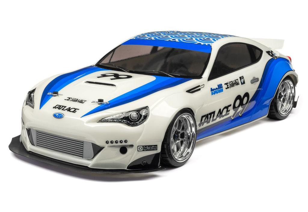 HPI RS4 Sport 3 Drift 1:10 - радиоуправляемый автомобиль (White)