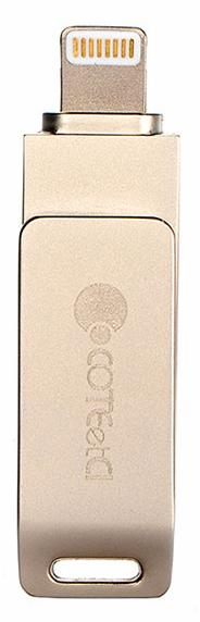 COTEetCI iUSB 32GB (CS5070-32G) - флеш-накопитель для iPhone/iPad (Gold) нд
