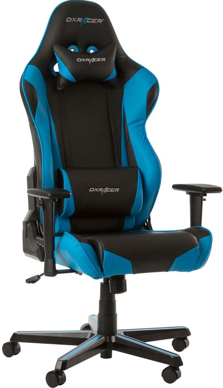 DXRacer OH/RZ0/NB - компьютерное кресло (Black/Blue)
