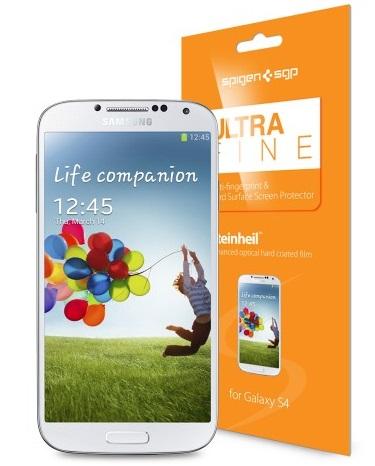 SGP Steinheil Ultra Fine Screen Protector (SGP10191) - защитная пленка для Samsung Galaxy S4