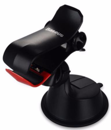 Автомобильный держатель Baseus Smart Car Mount SUGENT-QU01 для смартфона (Black)