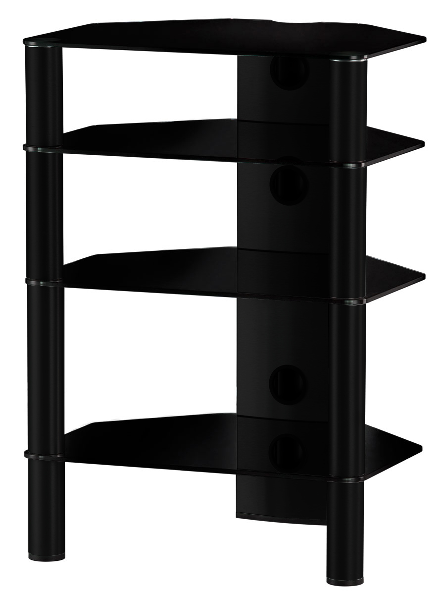 Sonorous RX 2140 - стойка для аудио-видео оборудования (Black) RX 2140-B-HBLK