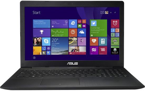 Ноутбук Asus X553MA-BING-SX371B 15.6'', Intel Celeron N2840 2.16 GHz, 2Gb, 500Gb HDD (Black) 90NB04X6-M14940