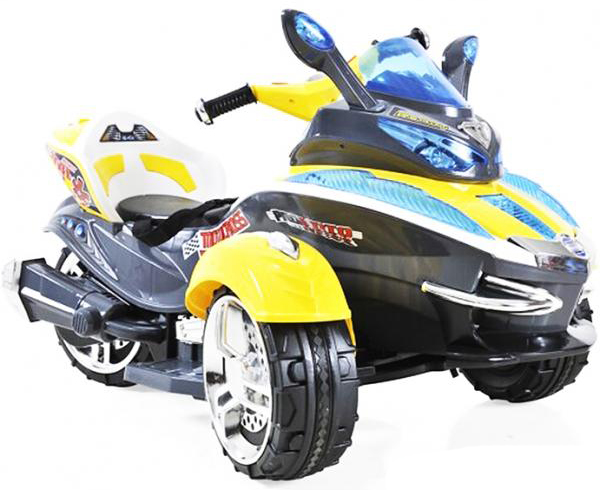 1TOY Трицикл (Т58699) - аккумуляторный трицикл (Yellow)