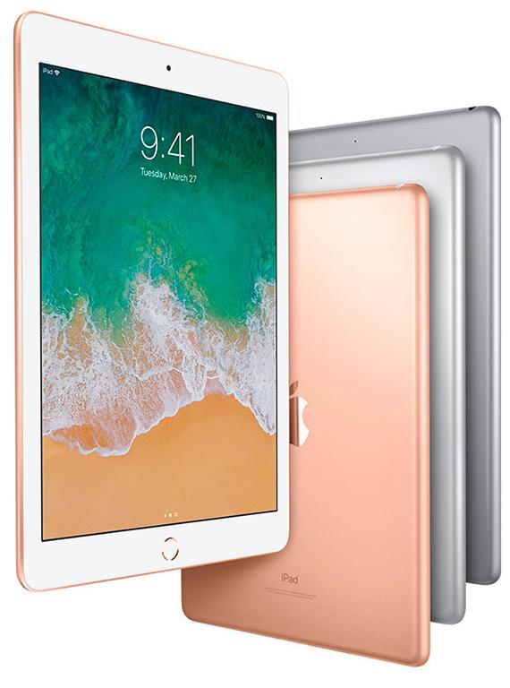 Планшет Apple iPad 9.7'' 32Gb Wi-Fi 2018 MRJN2RU/A (Gold)