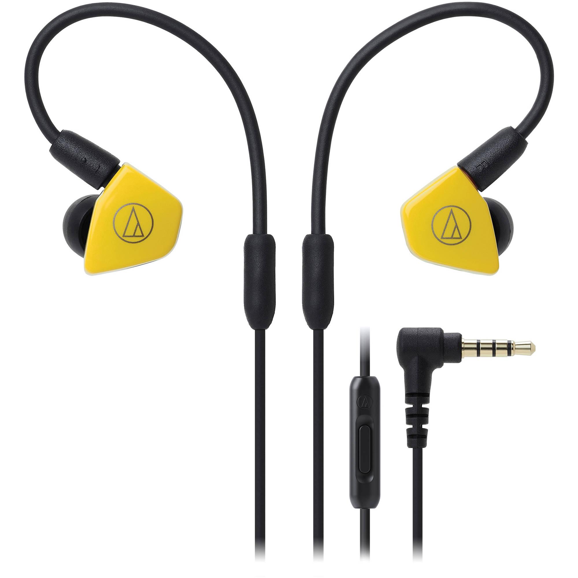 все цены на  Audio-Technica ATH-LS50iS (15119538) - внутриканальные наушники (Yellow)  онлайн