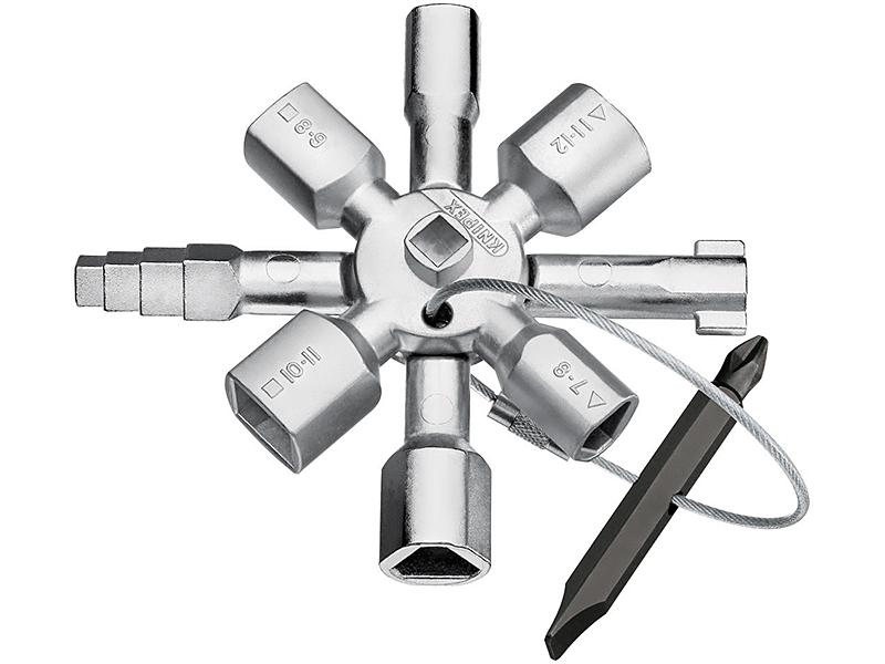 TwinKeyКлючи и наборы ключей<br>Ключ  для распространенных шкафов и систем запирания<br>