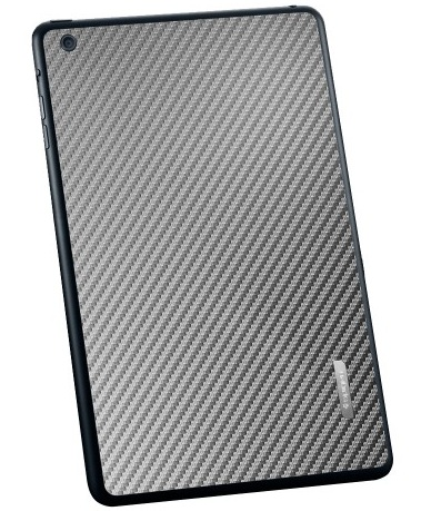 SGP Skin Guard Set (SGP10065) - защитный скин для iPad Mini (Carbon Gray)