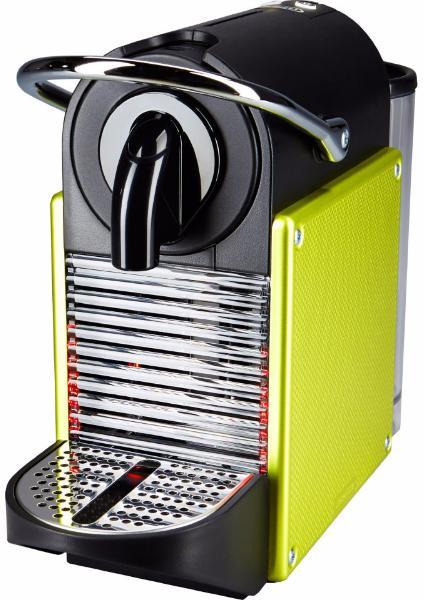 Delonghi EN 125 Pixie - капсульная кофемашина (Black/Lime)