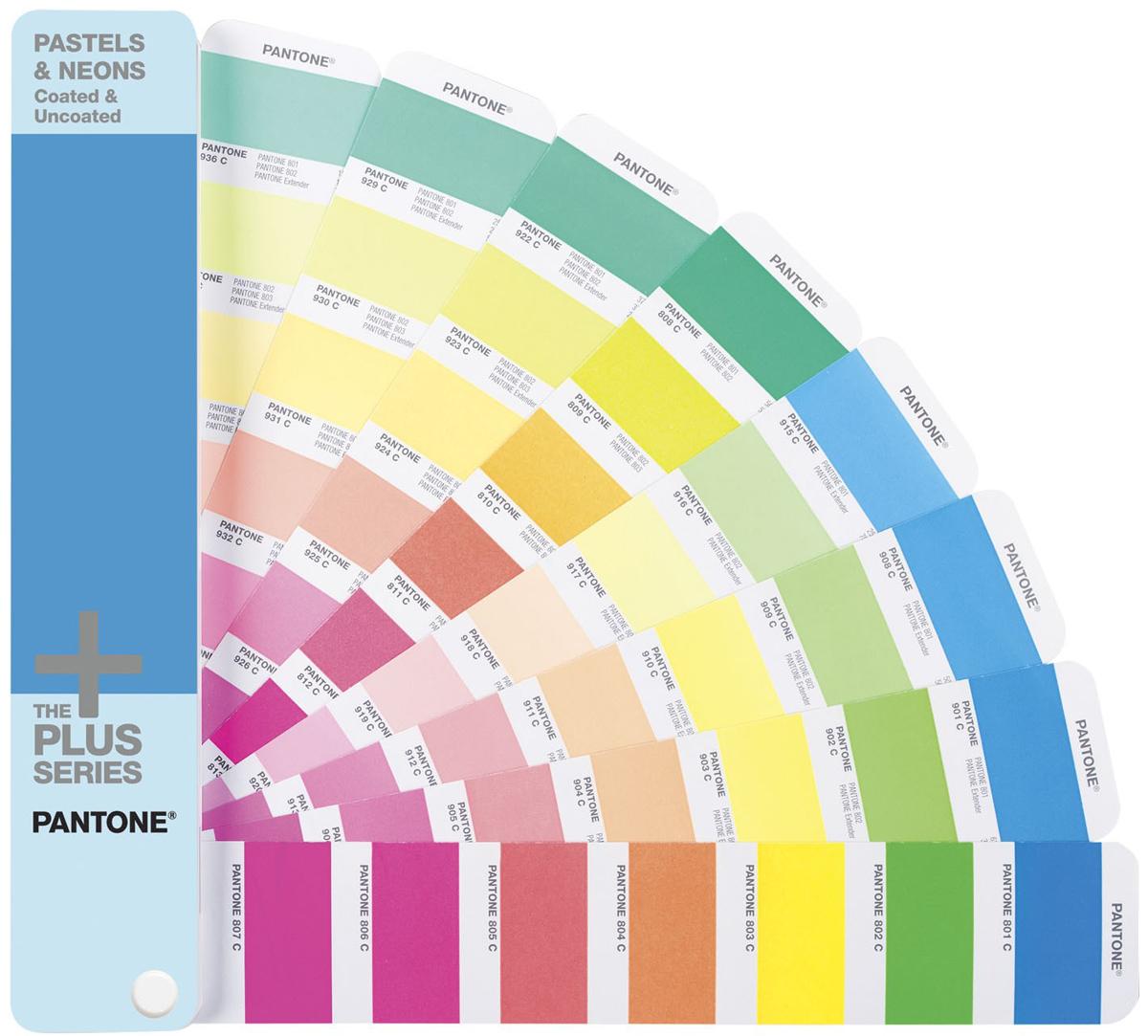 Купить Pantone Pastels & Neons Guide Coated/Uncoated (GG1504) - цветовой справочник