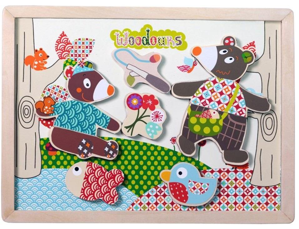 История МишкиРазвивающие игрушки<br>Магнитная доска<br>