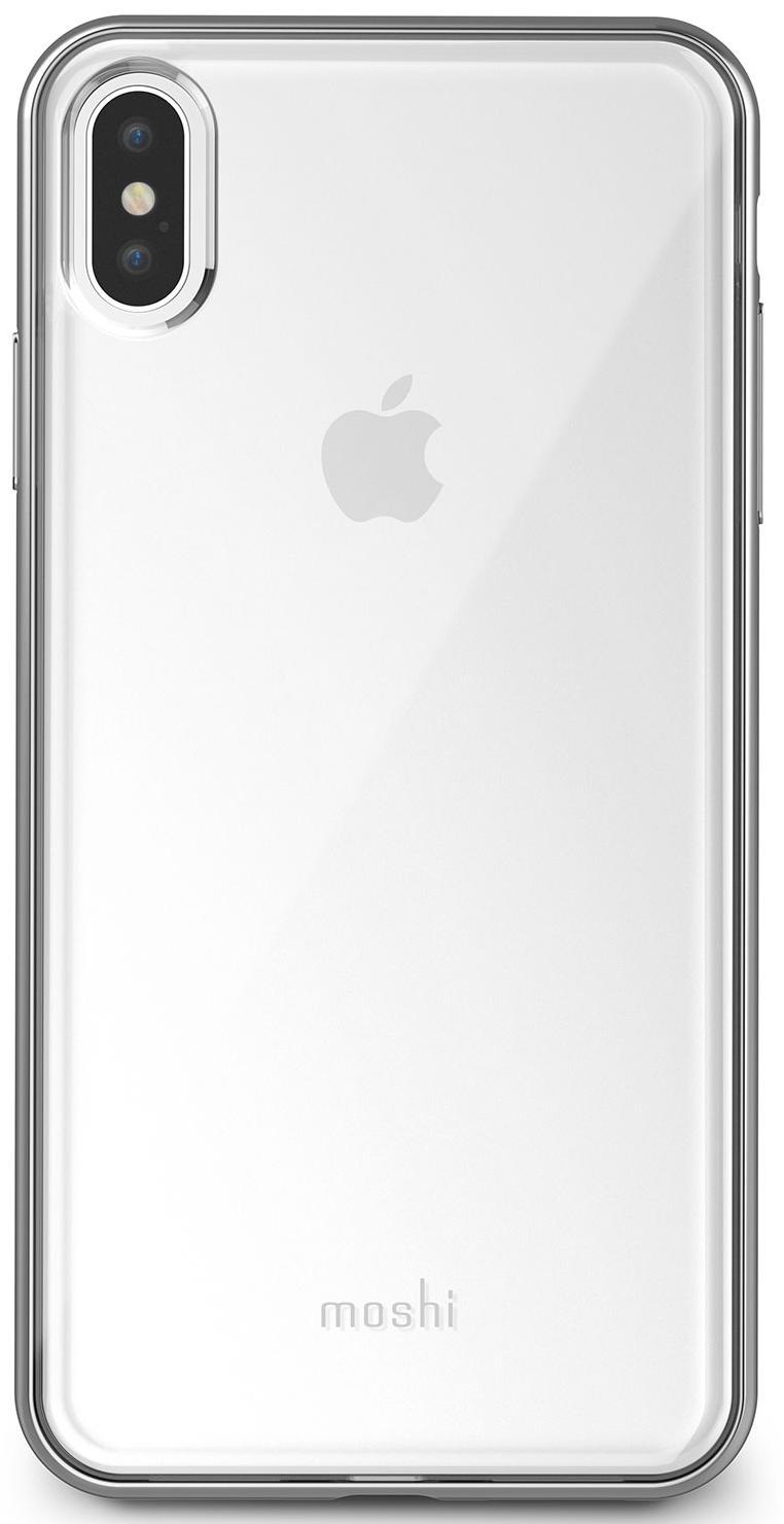 Чехол-накладка Moshi Vitros (99MO103203) для Apple iPhone XS Max (Silver) фото