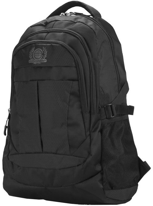 "Continent BP-001 - рюкзак для ноутбука 15,6"" (Black)"