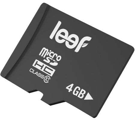 Leef microSDHC 4Gb Class 10 (LFMSD-00410R) - карта памяти (Black) microsdhc kingston 4gb class 4 sdc4 4gbsp