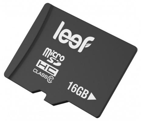 Leef microSDHC 16Gb Class 10 (LMSA0KK016R5) - карта памяти с адаптером (Black)