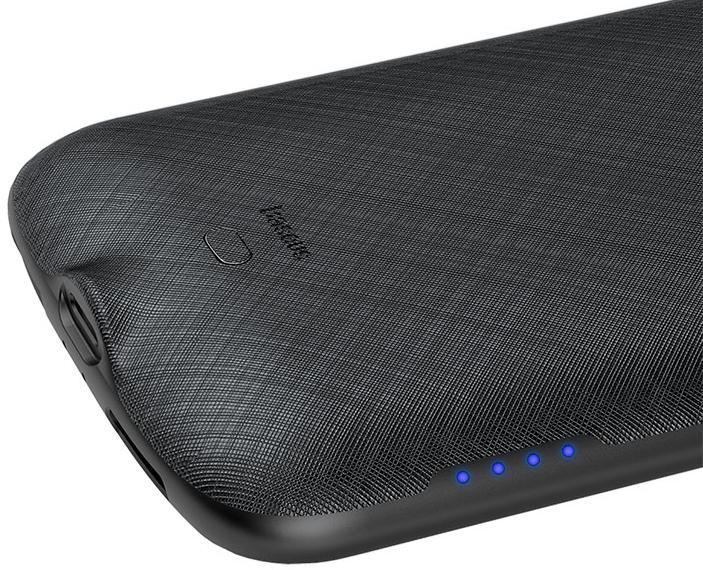 Чехол-аккумулятор Baseus Continuous Backpack 4000 mAh (ACAPIPH58-BJ01) для iPhone Xs (Black)