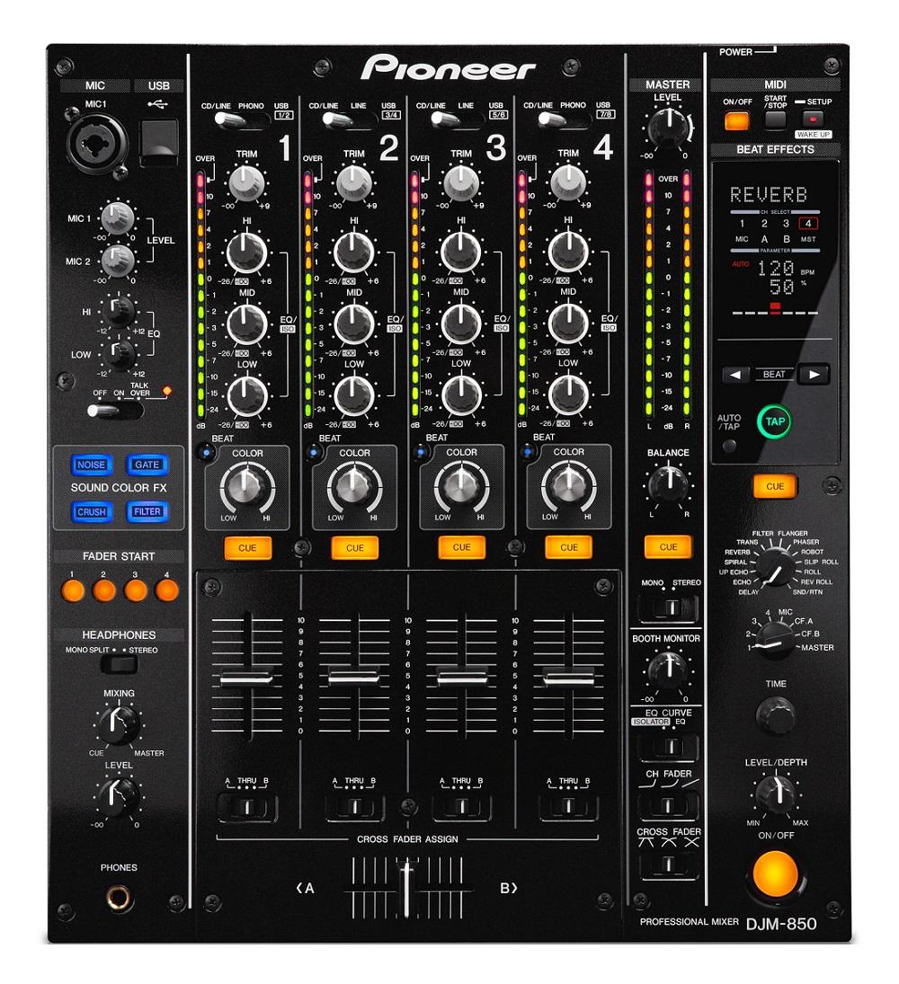 Pioneer DJM-850-K - DJ-микшер (Black)