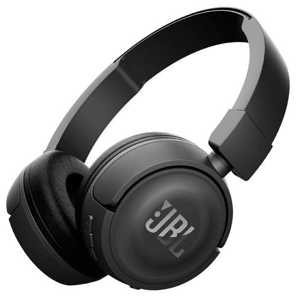 JBL T450BT - беспроводные наушники с микрофоном (Black)