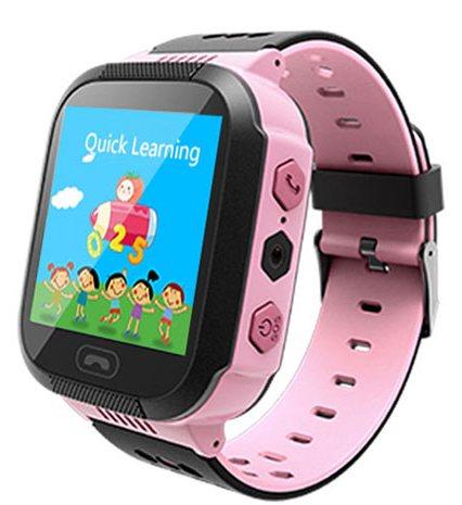 Кнопка Жизни J112 (9120112) - часы-телефон с GPS (Pink)