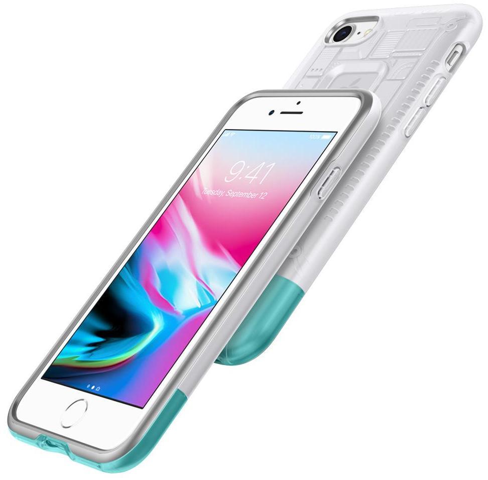 Чехол Spigen Classic C1 (054CS24405) для iPhone 8/7 (Snow)