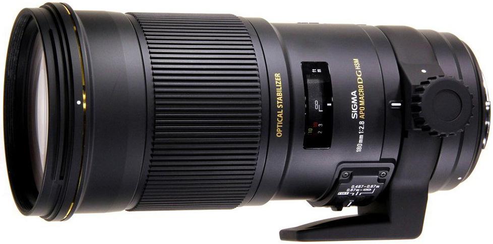 Sigma AF 180mm f/2.8 APO MACRO EX DG OS HSM 107954
