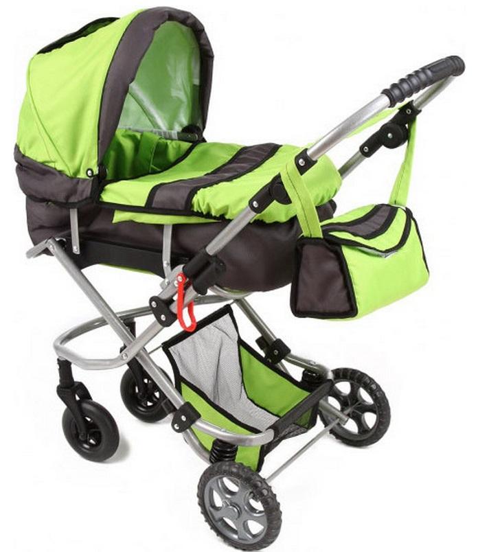 Wakart Кая (GL000045706) - коляска для кукол (Green) от iCover