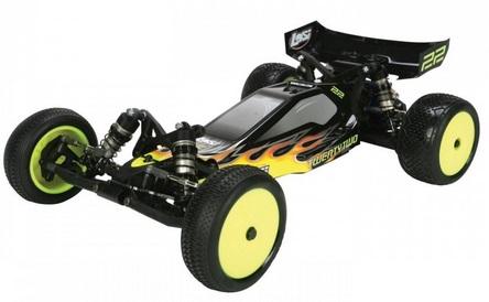 Losi Buggy 22 Brushless 2WD 2.4 Ghz (1:10) - радиоуправляемый автомобиль