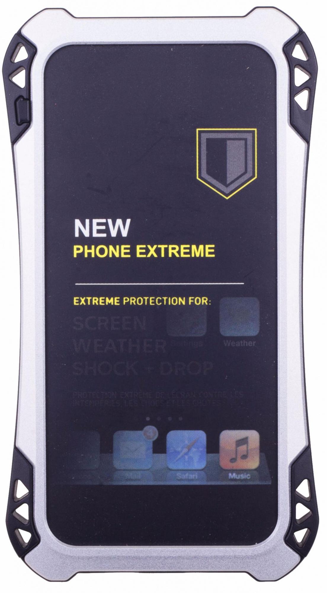 Amira Phone Extreme - защитный чехол для iPhone 6/6S (Silver/Black)