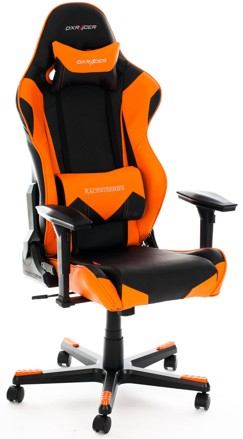 DXRacer OH/RE0/NO - компьютерное кресло (Orange)