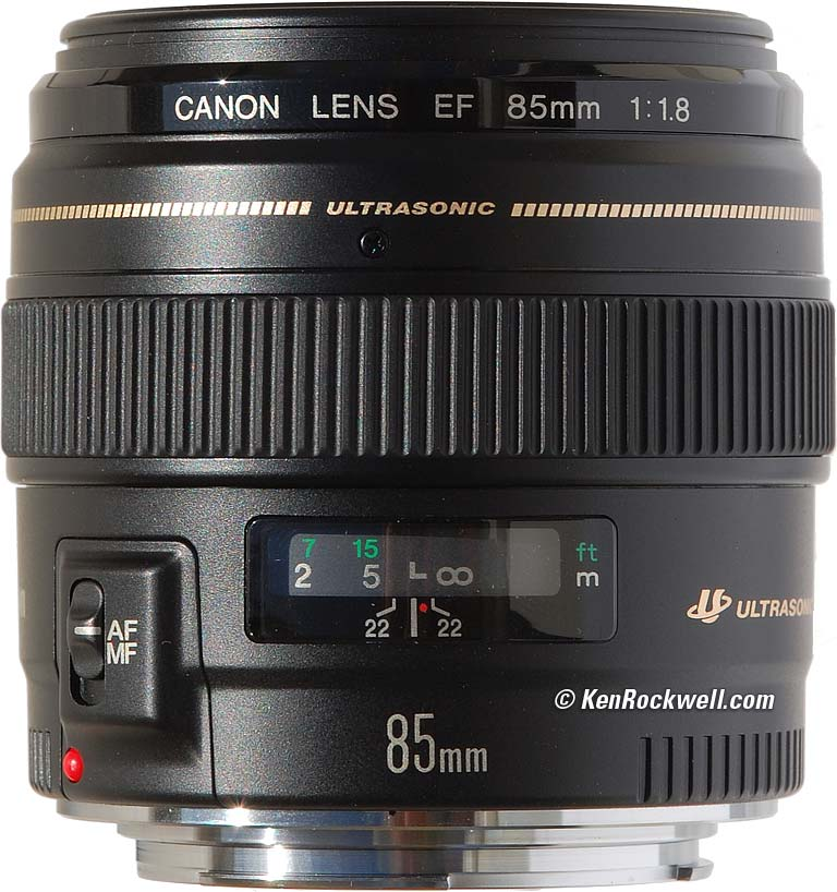 Canon EF 85mm 2519A012