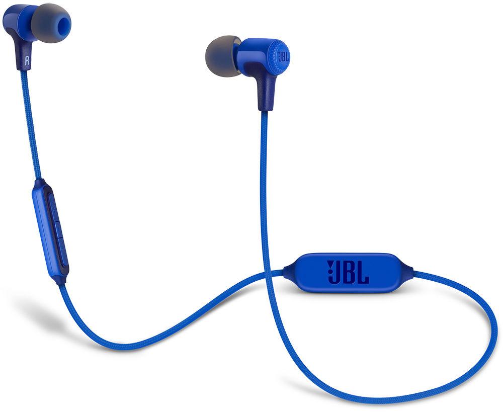 JBL E25 - внутриканальная Bluetooth-гарнитура (Blue)