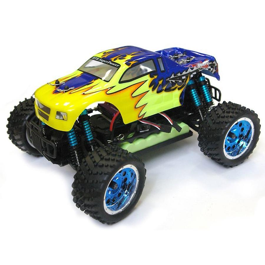 Himoto EXM-16 1:16 - радиоуправляемый автомобиль (Yellow)