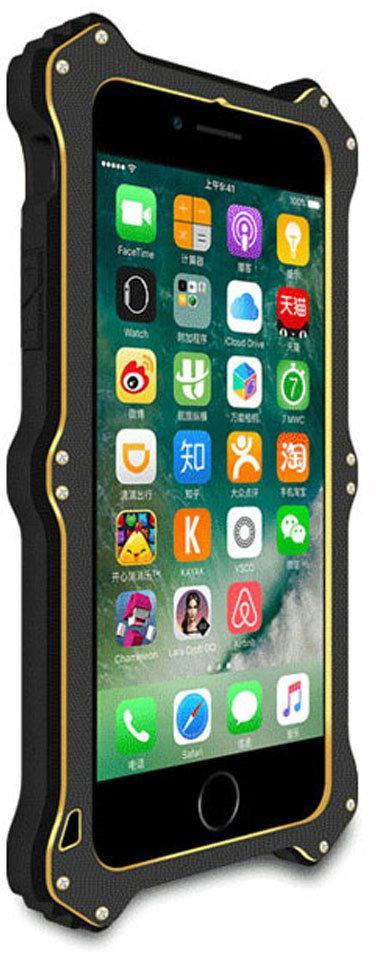 Love Mei MK2 - ударопрочный чехол для iPhone 7 (Black)