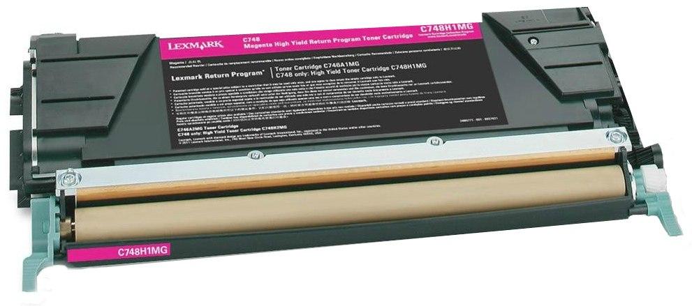 Lexmark C748H1MG - картридж для принтеров Lexmark C748 (Magenta)
