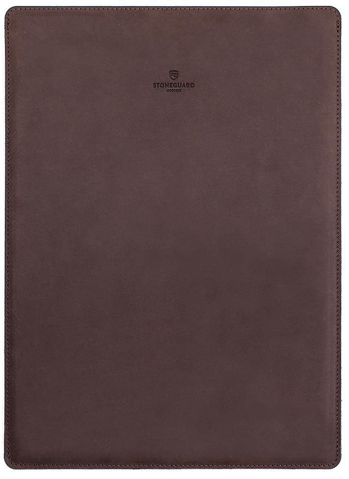 Stoneguard 511 (SG5110505) - кожаный чехол для MacBook 12 (Rock)