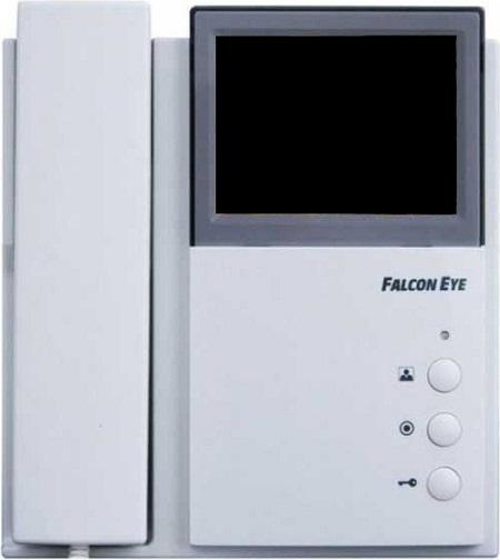 Falcon Eye (FE-4CHP2) - цветной видеодомофон (White)
