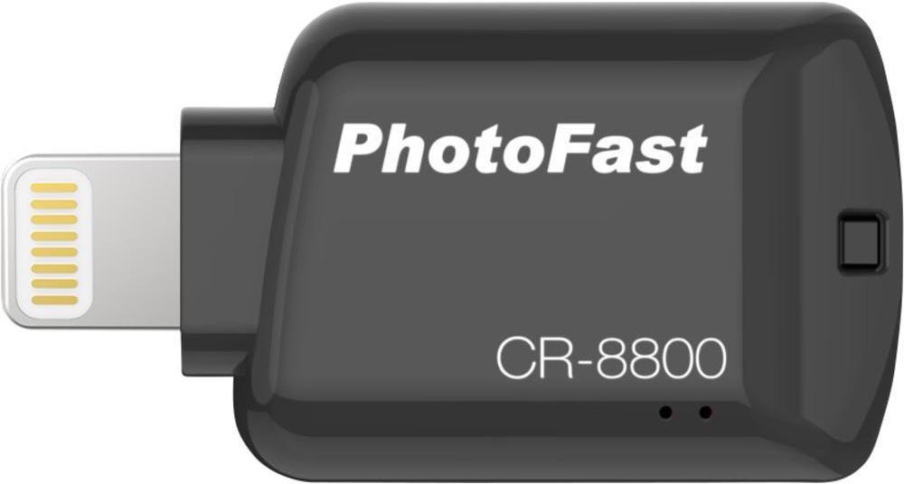 PhotoFast CR-8800 - microSD-картридер для iOS-устройств (Black) CR8800BK