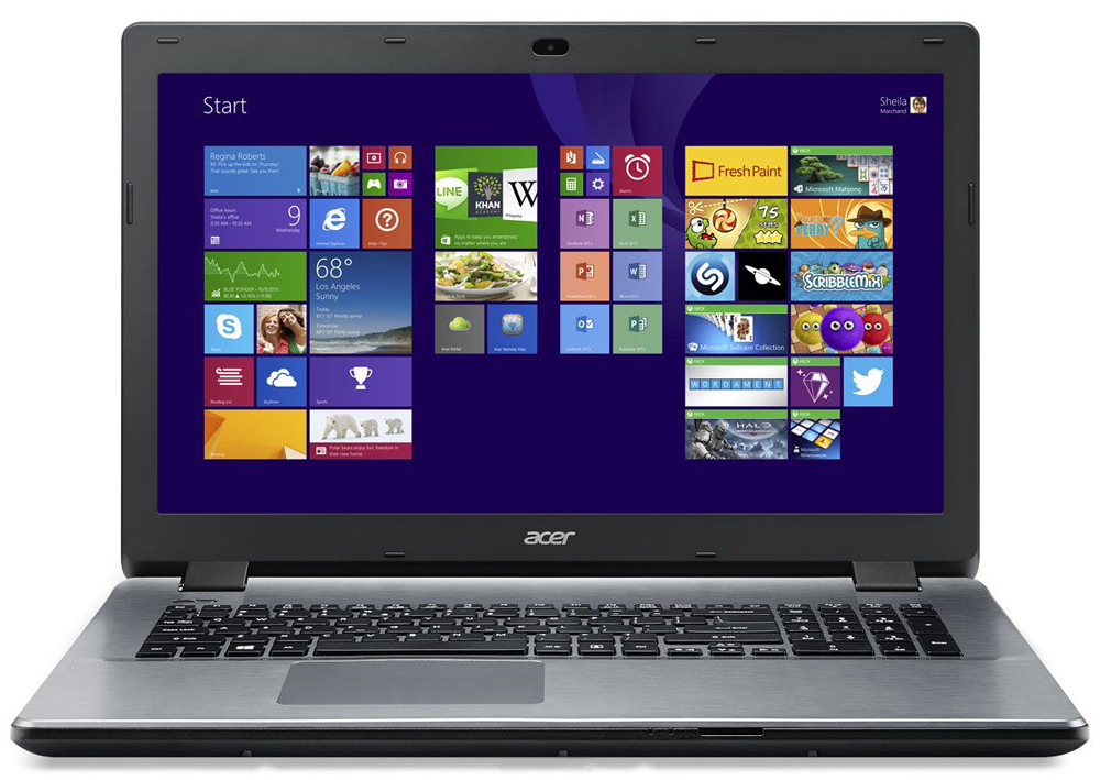 Ноутбук Acer Aspire E5-771G-58SB 17.3'', Intel Core i5-5200U 2.2Ghz, 6Gb, 1Tb HDD (NX.MNVER.013)