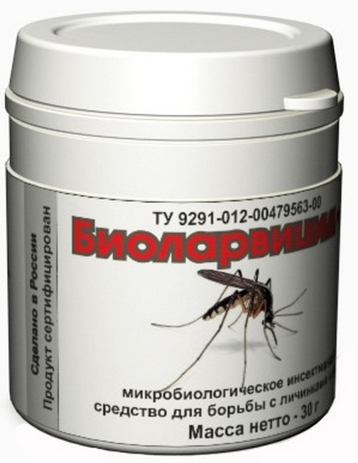 i4Technology Биоларвицид-30 (54072) - уничтожитель личинок комаров (White)