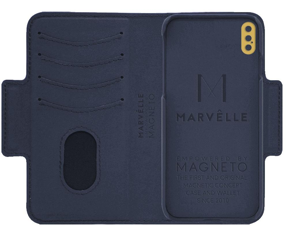 Чехол Marvelle N°305 для iPhone XS Max (Oxford Blue Smooth)