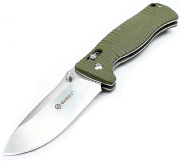 Ganzo G720 (G720-G) - складной нож (Green)