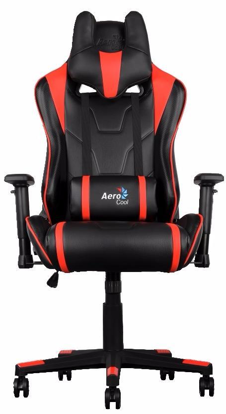 Aerocool AC220-BR - игровое кресло (Black/Red) arozzi torretta orange v2 игровое кресло