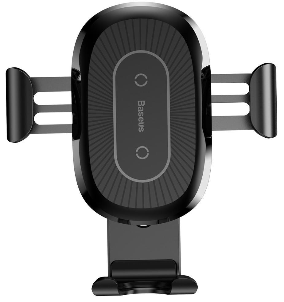 Беспроводное зарядное устройство-автодержатель Baseus Mount Wireless Charger WXZT-01 (Black)