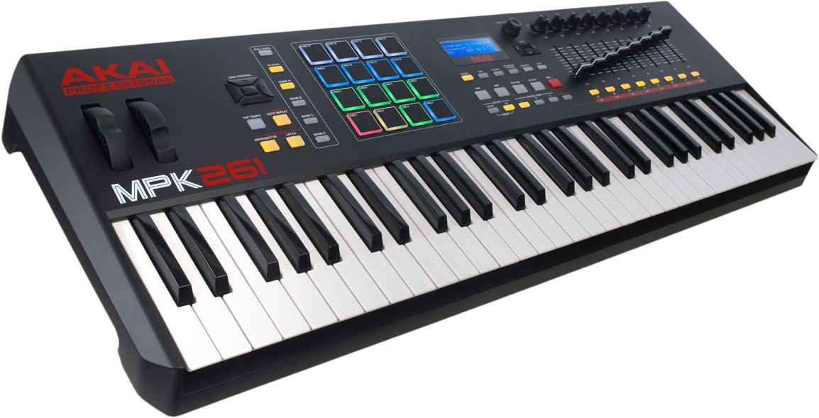 Akai MPK261 - миди-клавиатура (Black) A050346