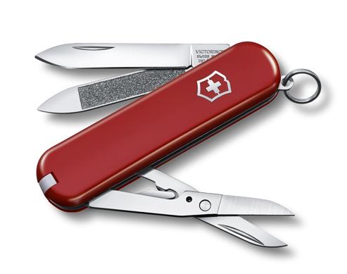 Victorinox Classic Executive 0.6423 - многофункциональный складной нож (Red)