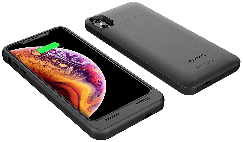 Чехол-аккумулятор Alpatronix Battery Case 4200mAh (B075LW155D) для iPhone X/Xs (Black)